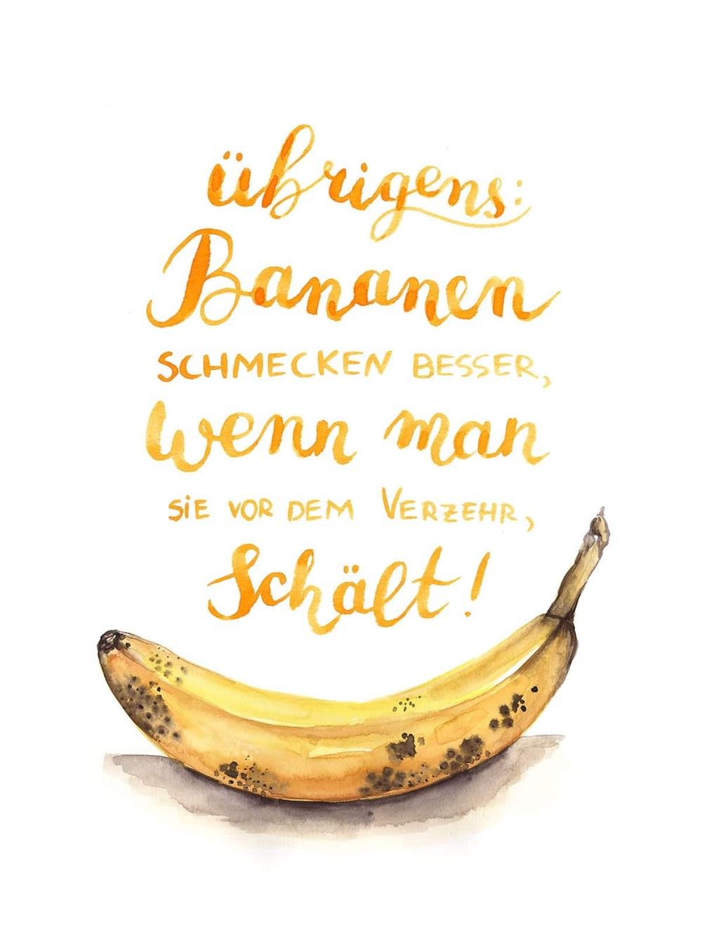banane-lettering